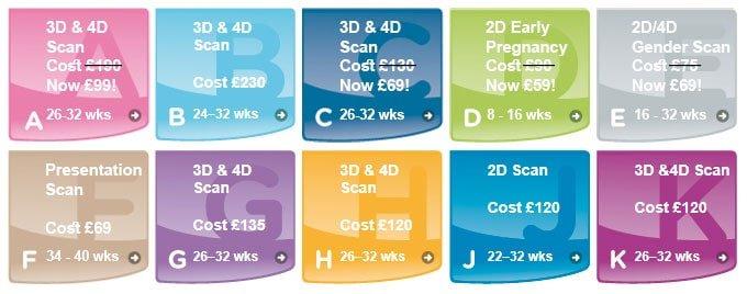 3D 4D Baby Scans Aberdeen